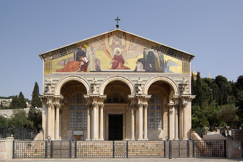 1024px-Jerusalem_Church_of_all_nations_BW_7
