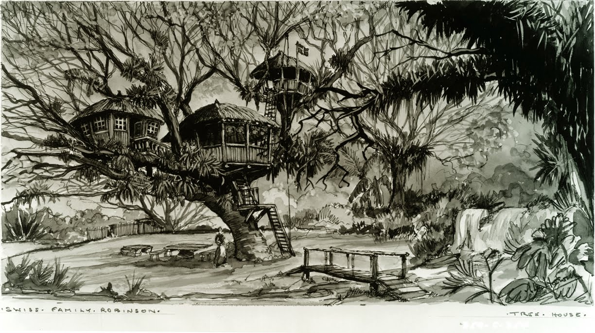 The Real Swiss Family Robinson Treehouse in Tobago | The Treeographer