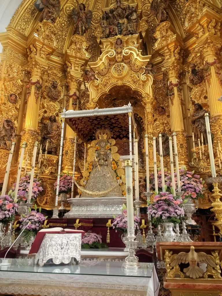 virgin of el rocio virgen del rocio